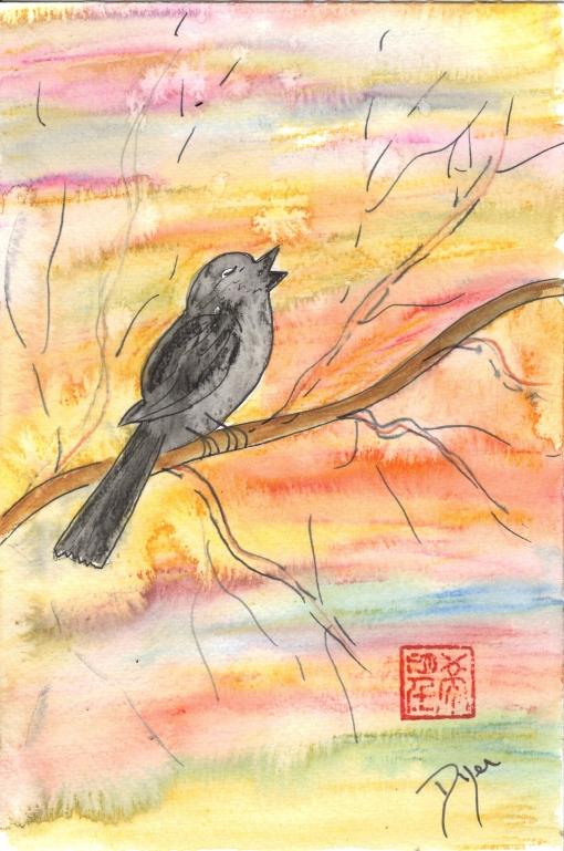 First songbird