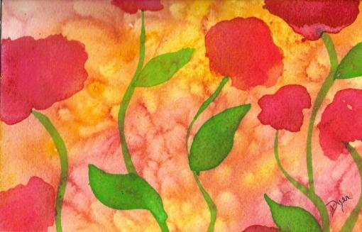 Flores postcard 1