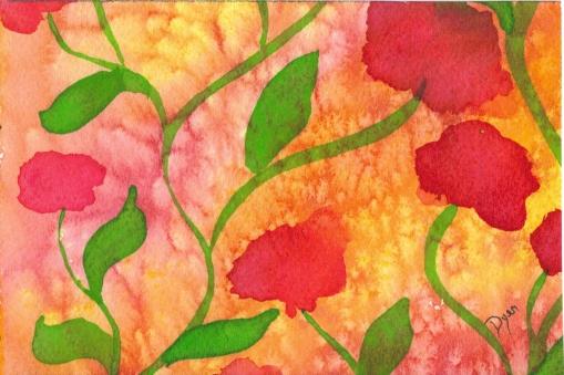Flores postcard 2