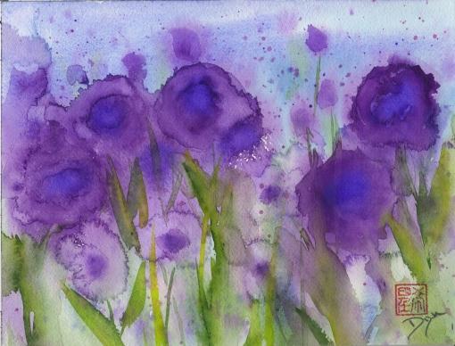 Purple Wildflower Meadow