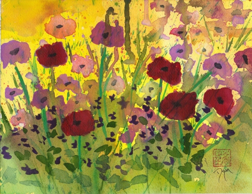 Riot of Wildflowers