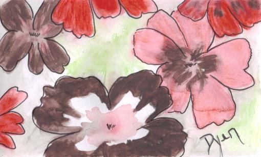 Garden II index card