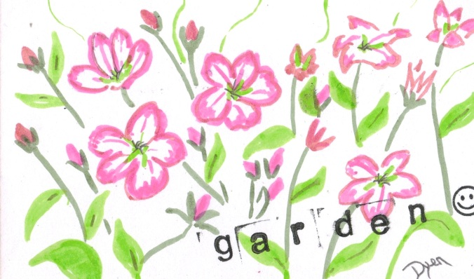 Garden index card