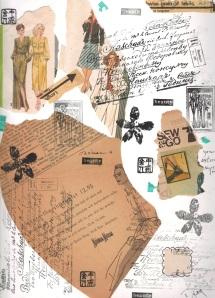 art journal fashion