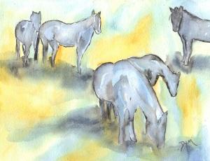 Horses June