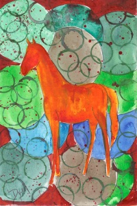 Horse Abstract