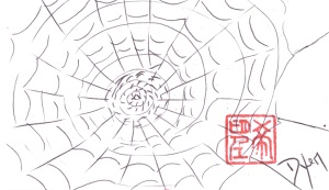 Index card Spider's Web