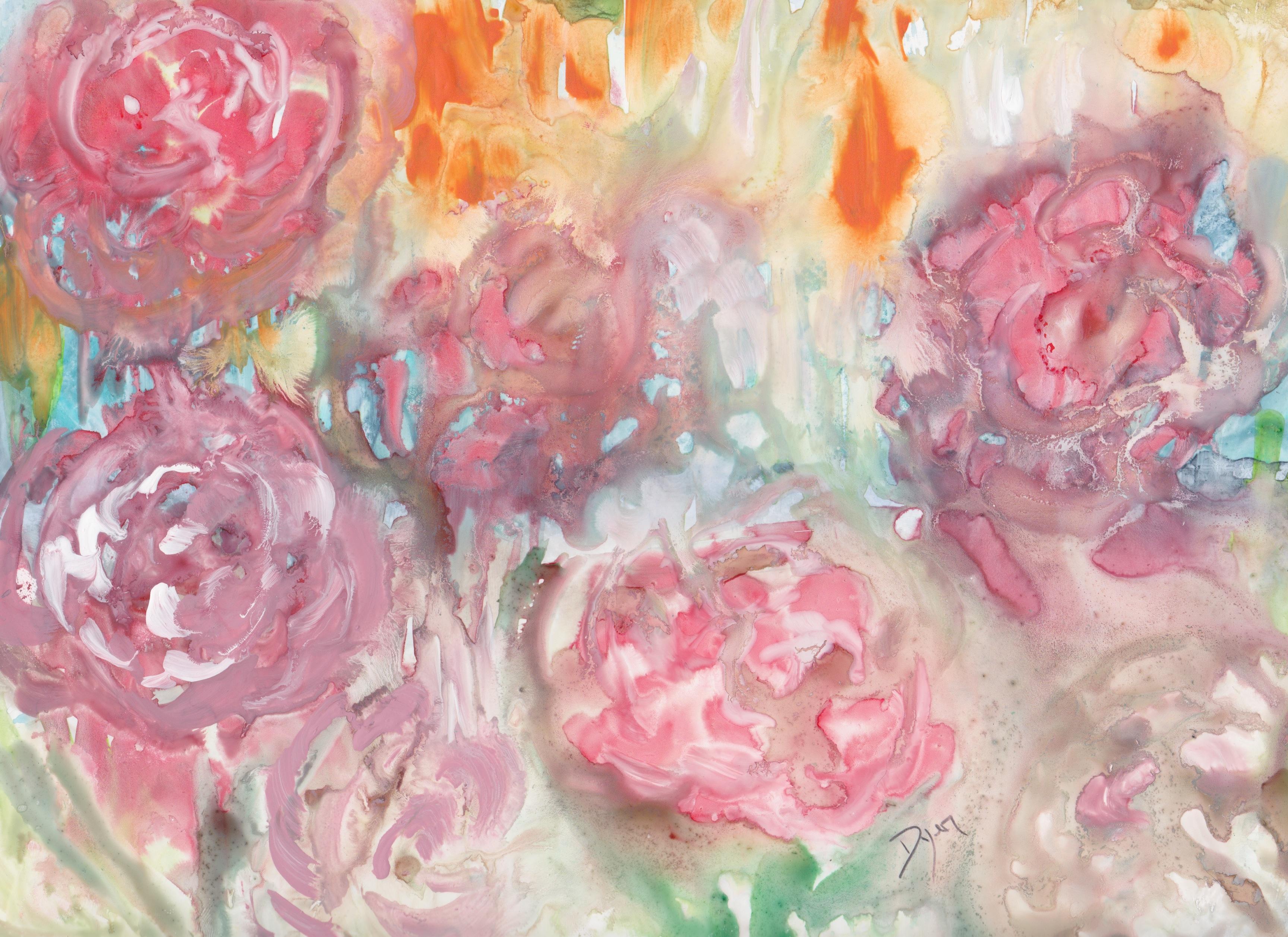 Roses on Yupo 72