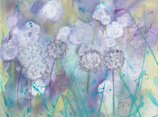 July Dandelions