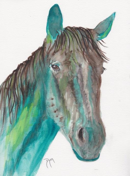 Horse greens 72