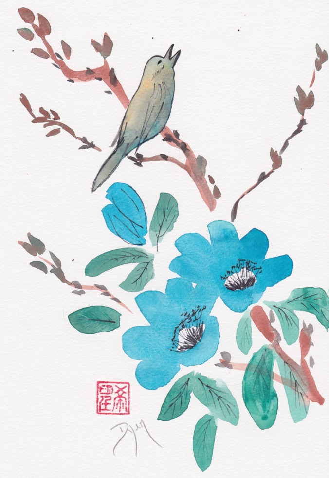 Bird blue blossom 1.jpeg